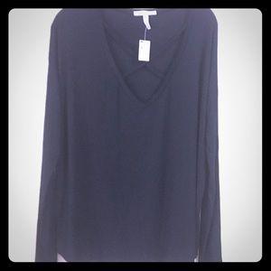 PINK Victoria's Secret super soft black shirt NWT